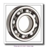 8 mm x 19 mm x 6 mm  skf W 619/8 R-2Z Deep groove ball bearings