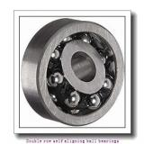 85 mm x 180 mm x 60 mm  NTN 2317SC3 Double row self aligning ball bearings