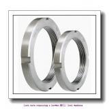 skf MB 20 Lock nuts requiring a keyway,MB(L) lock washers