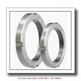 skf MB 22 Lock nuts requiring a keyway,MB(L) lock washers