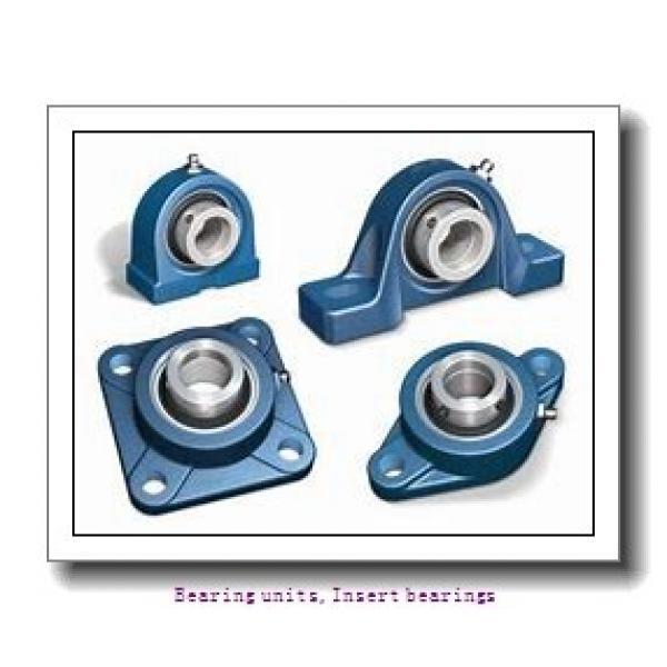 25 mm x 52 mm x 15 mm  SNR LK.205.G2H Bearing units,Insert bearings #1 image
