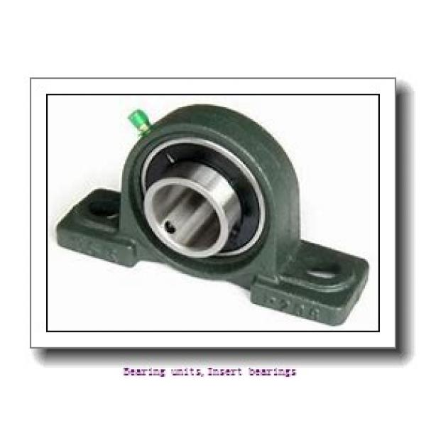 12 mm x 47 mm x 31 mm  SNR UC.201.G2L4 Bearing units,Insert bearings #1 image