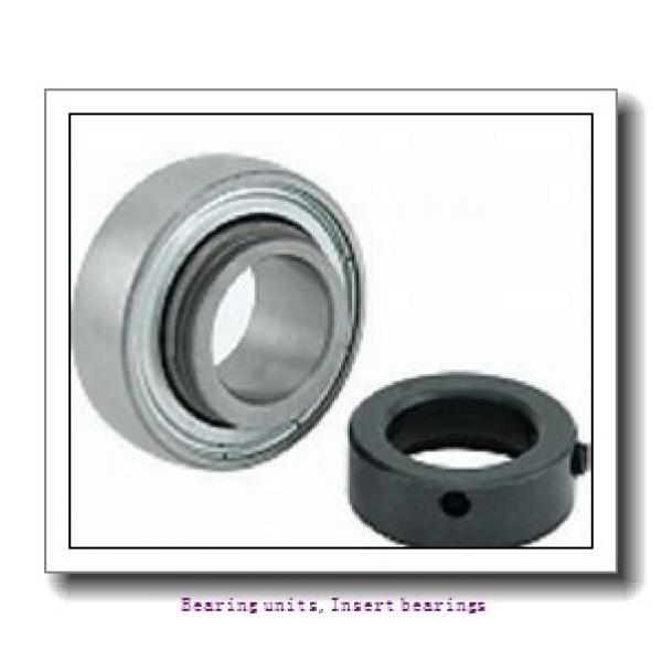 17 mm x 40 mm x 19.1 mm  SNR SES.203 Bearing units,Insert bearings #1 image