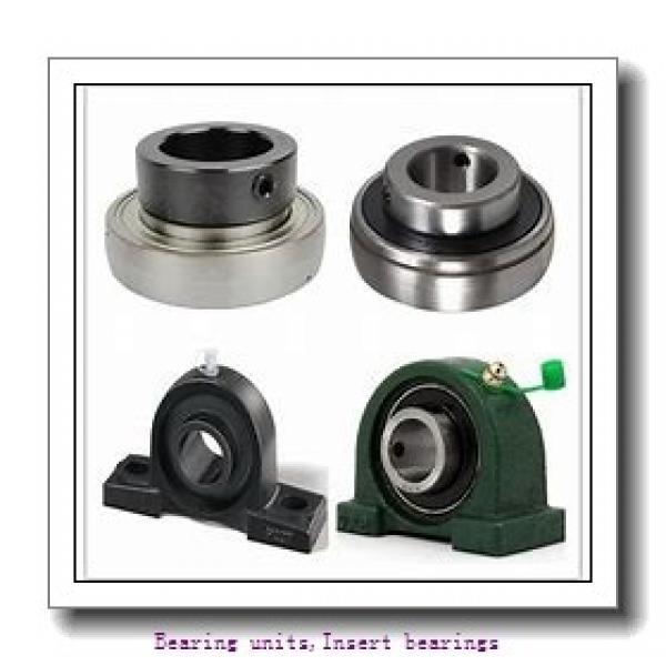 95 mm x 200 mm x 93.7 mm  SNR EX319G2L3 Bearing units,Insert bearings #1 image