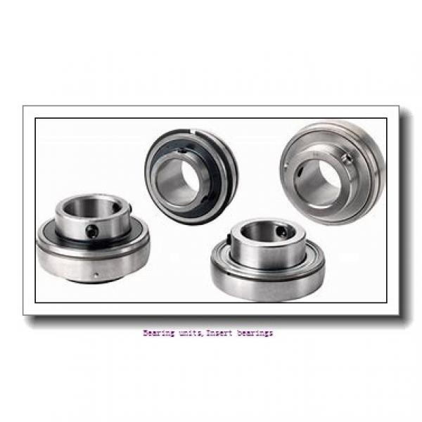 31.75 mm x 62 mm x 38.1 mm  SNR UC206-20G2L4 Bearing units,Insert bearings #1 image
