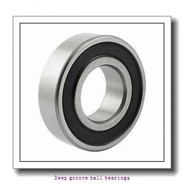 65 mm x 160 mm x 37 mm  skf 6413 NR Deep groove ball bearings #1 image
