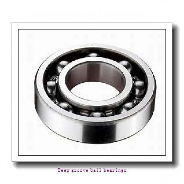85 mm x 120 mm x 18 mm  skf W 61917-2RS1 Deep groove ball bearings #1 image