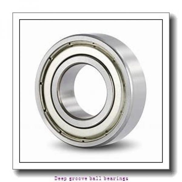 30 mm x 72 mm x 19 mm  skf 306 NR Deep groove ball bearings #1 image