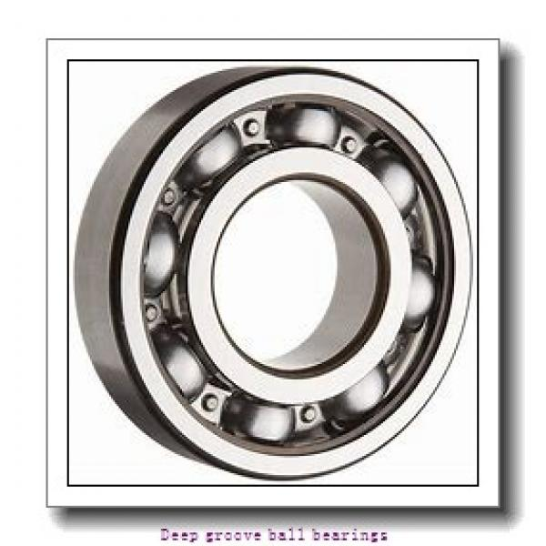 8 mm x 19 mm x 6 mm  skf W 619/8 R-2Z Deep groove ball bearings #1 image