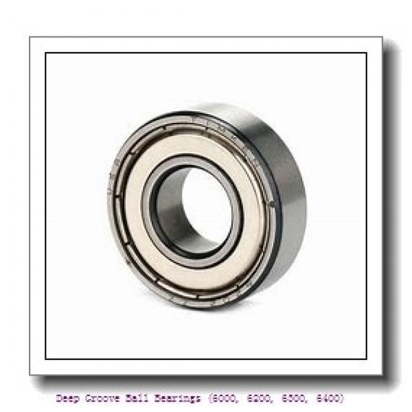 timken 6406-N-C3 Deep Groove Ball Bearings (6000, 6200, 6300, 6400) #1 image