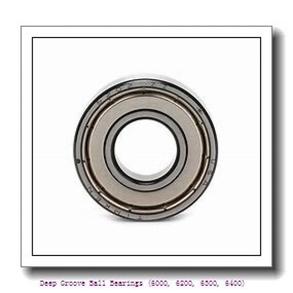 75 mm x 115 mm x 20 mm  timken 6015-2RS-C3 Deep Groove Ball Bearings (6000, 6200, 6300, 6400) #1 image