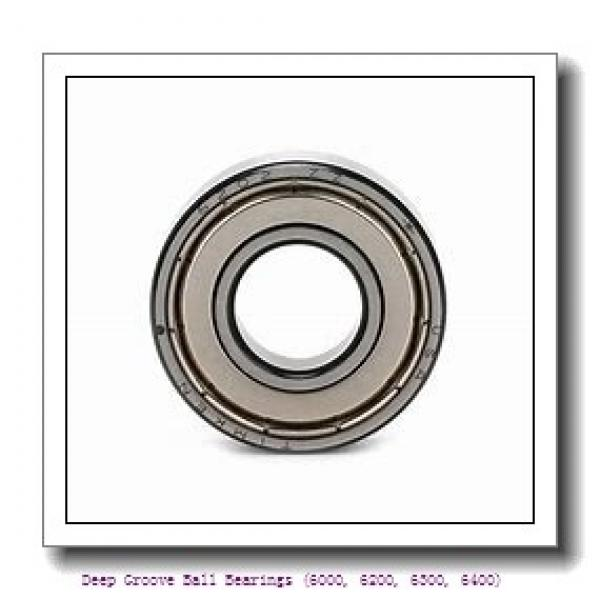 timken 6008-2RZ-C3 Deep Groove Ball Bearings (6000, 6200, 6300, 6400) #1 image