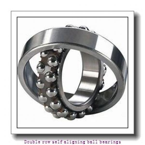 30 mm x 62 mm x 20 mm  SNR 2206KC3 Double row self aligning ball bearings #1 image