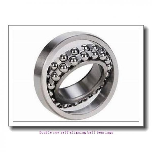 30 mm x 72 mm x 27 mm  NTN 2306SL1 Double row self aligning ball bearings #1 image