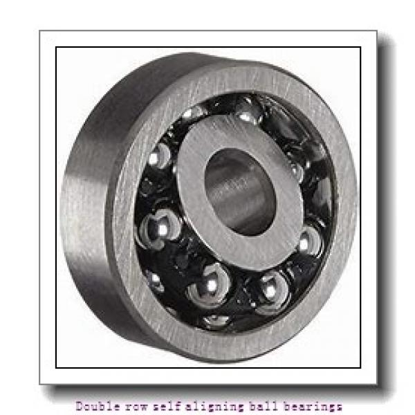 55 mm x 120 mm x 43 mm  SNR 2311KC3 Double row self aligning ball bearings #1 image