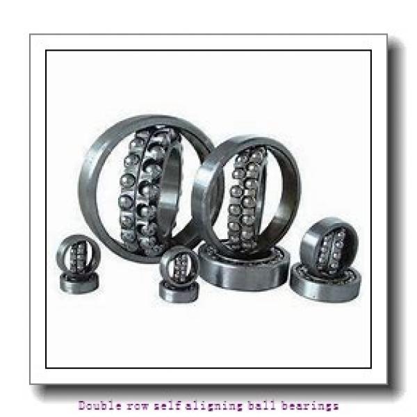 90 mm x 190 mm x 64 mm  NTN 2318SKC3 Double row self aligning ball bearings #1 image