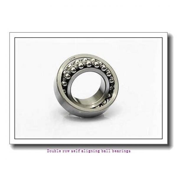 25,000 mm x 62,000 mm x 24,000 mm  SNR 2305EEG15 Double row self aligning ball bearings #1 image