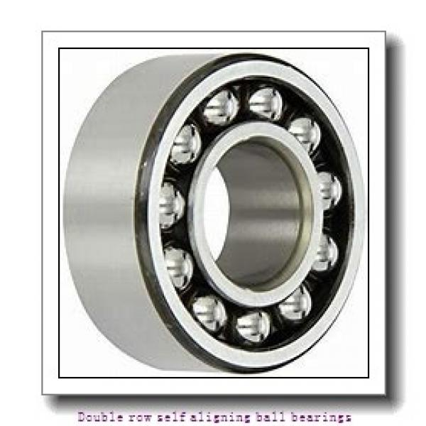 30 mm x 72 mm x 27 mm  SNR 2306KC3 Double row self aligning ball bearings #1 image