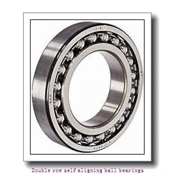 30 mm x 72 mm x 27 mm  NTN 2306SKC3 Double row self aligning ball bearings #1 image