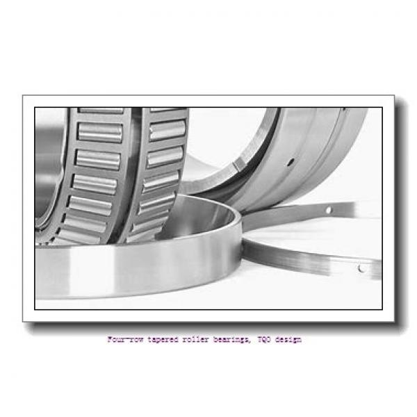 457.2 mm x 596.9 mm x 276.225 mm  skf 331169 BG Four-row tapered roller bearings, TQO design #1 image