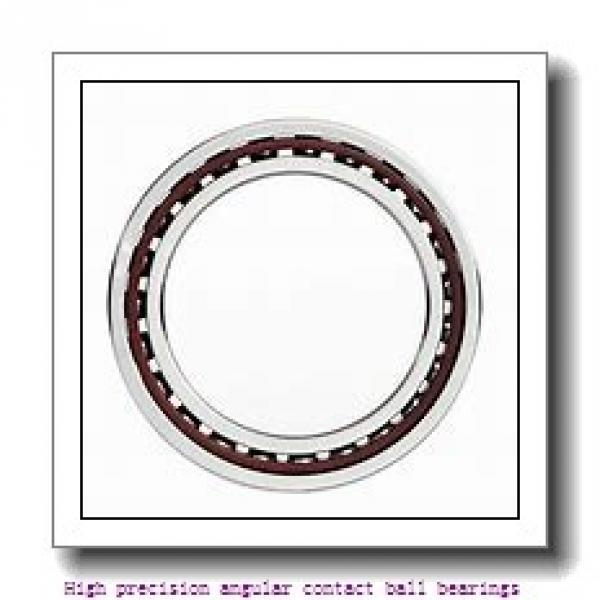 55 mm x 80 mm x 13 mm  NTN 7911UCG/GNP42U3G High precision angular contact ball bearings #2 image