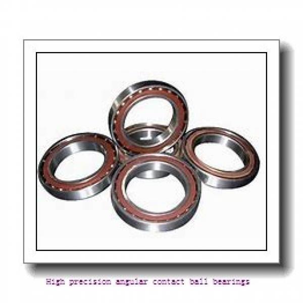 120 mm x 180 mm x 28 mm  SNR 7024CVUJ84 High precision angular contact ball bearings #1 image