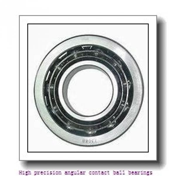 105 mm x 160 mm x 26 mm  SNR 7021CVUJ84 High precision angular contact ball bearings #2 image