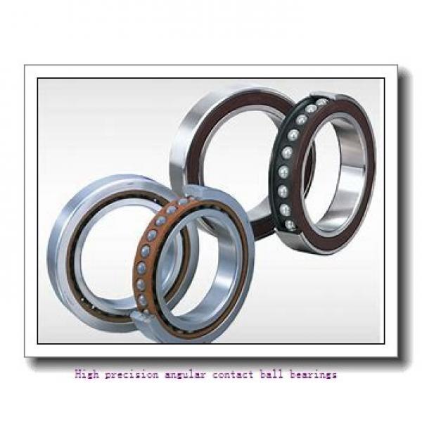 55 mm x 100 mm x 21 mm  SNR 7211HG1UJ84 High precision angular contact ball bearings #1 image