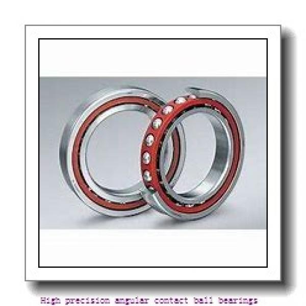 10 mm x 26 mm x 8 mm  SNR 7000.CV.U.J74 High precision angular contact ball bearings #2 image