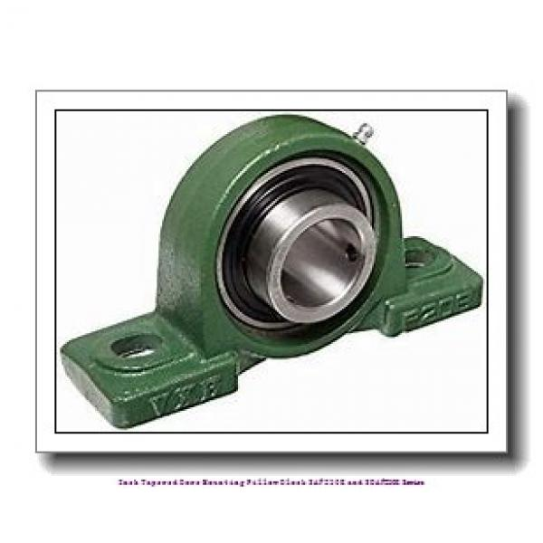 5.438 Inch | 138.125 Millimeter x 2.3750 in x 18.3750 in  timken SAF 23032K Inch Tapered Bore Mounting Pillow Block SAF230K and SDAF230K Series #2 image