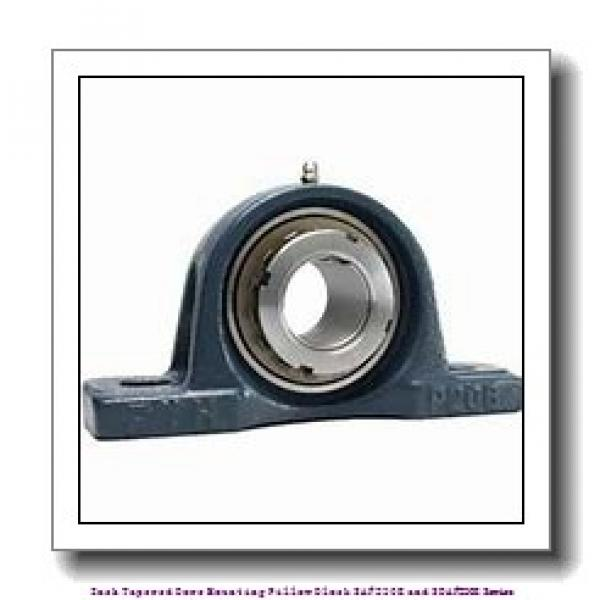 5.438 Inch | 138.125 Millimeter x 2.3750 in x 18.3750 in  timken SAF 23032K Inch Tapered Bore Mounting Pillow Block SAF230K and SDAF230K Series #1 image