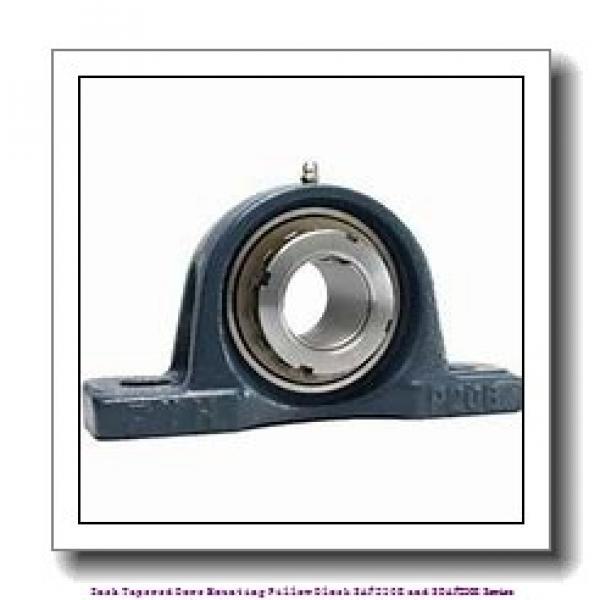 timken SDAF 23096K 18 Inch Tapered Bore Mounting Pillow Block SAF230K and SDAF230K Series #1 image