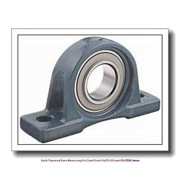timken SAF 23024K 4-1/8 Inch Tapered Bore Mounting Pillow Block SAF230K and SDAF230K Series #2 image