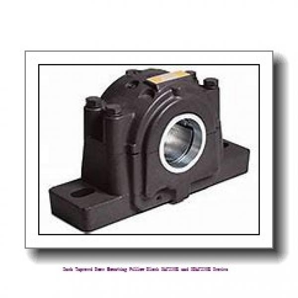 4.188 Inch   106.375 Millimeter x 1.75 in x 15.2500 in  timken SAF 23024K Inch Tapered Bore Mounting Pillow Block SAF230K and SDAF230K Series #2 image
