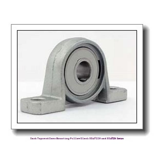 4.188 Inch | 106.375 Millimeter x 2.2500 in x 16.5 in  timken SDAF 22524 Inch Tapered Bore Mounting Pillow Block SDAF225 and SDAF226 Series #1 image