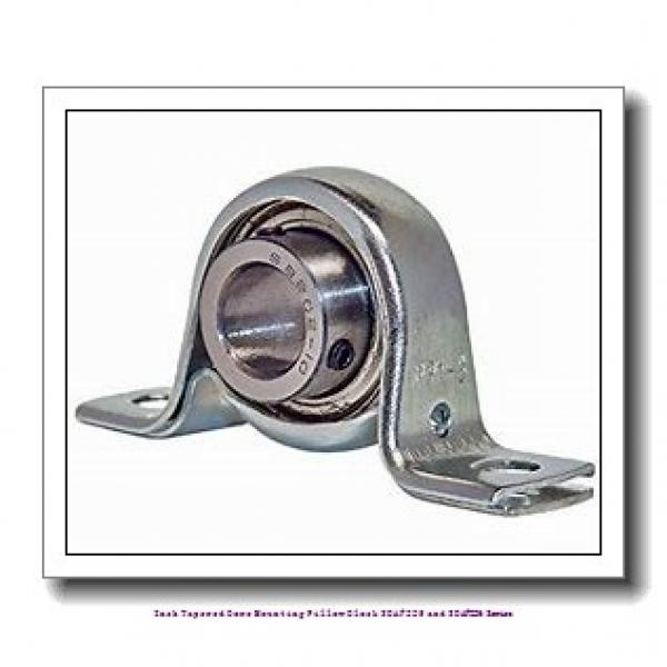 6.438 Inch | 163.525 Millimeter x 2.7500 in x 26.7500 in  timken SDAF 22536 Inch Tapered Bore Mounting Pillow Block SDAF225 and SDAF226 Series #1 image