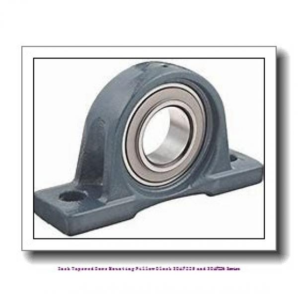 3.188 Inch | 80.975 Millimeter x 2.00 in x 15.5000 in  timken SDAF 22618 Inch Tapered Bore Mounting Pillow Block SDAF225 and SDAF226 Series #1 image