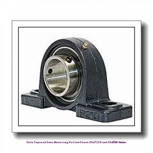 4.438 Inch | 112.725 Millimeter x 2.50 in x 22.00 in  timken SDAF 22626 Inch Tapered Bore Mounting Pillow Block SDAF225 and SDAF226 Series #1 image