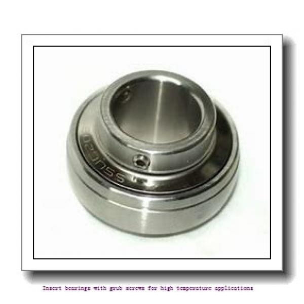 49.213 mm x 90 mm x 51.6 mm  skf YAR 210-115-2FW/VA228 Insert bearings with grub screws for high temperature applications #2 image