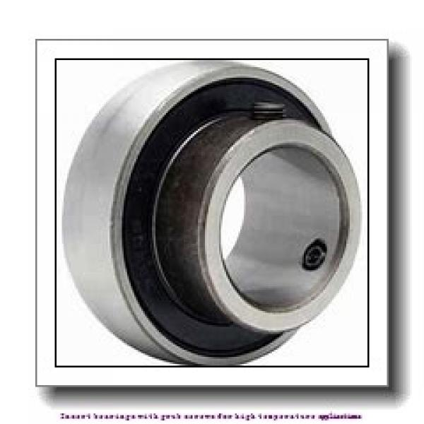 50 mm x 90 mm x 51.6 mm  skf YAR 210-2FW/VA201 Insert bearings with grub screws for high temperature applications #1 image