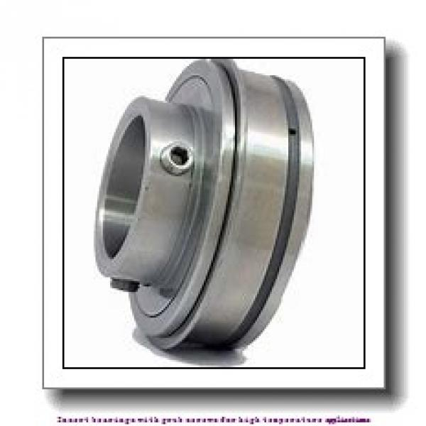 55 mm x 100 mm x 55.6 mm  skf YAR 211-2FW/VA201 Insert bearings with grub screws for high temperature applications #2 image
