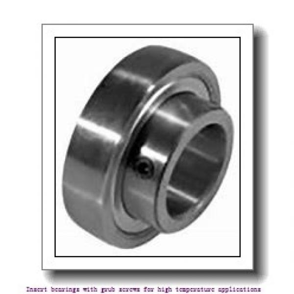 38.1 mm x 80 mm x 49.2 mm  skf YAR 208-108-2FW/VA201 Insert bearings with grub screws for high temperature applications #1 image