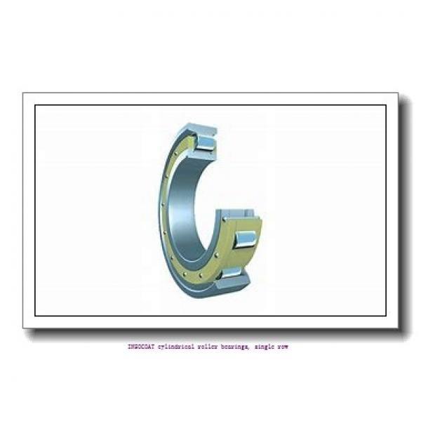 55 mm x 100 mm x 21 mm  skf NU 211 ECM/C3VL0241 INSOCOAT cylindrical roller bearings, single row #1 image