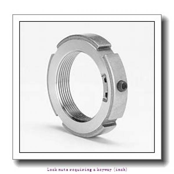 skf N 05 Lock nuts requiring a keyway (inch) #2 image