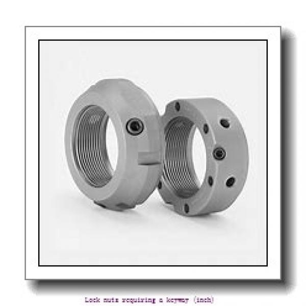 skf N 038 Lock nuts requiring a keyway (inch) #2 image