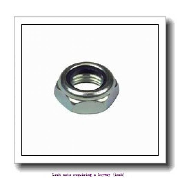 skf AN 22 Lock nuts requiring a keyway (inch) #2 image
